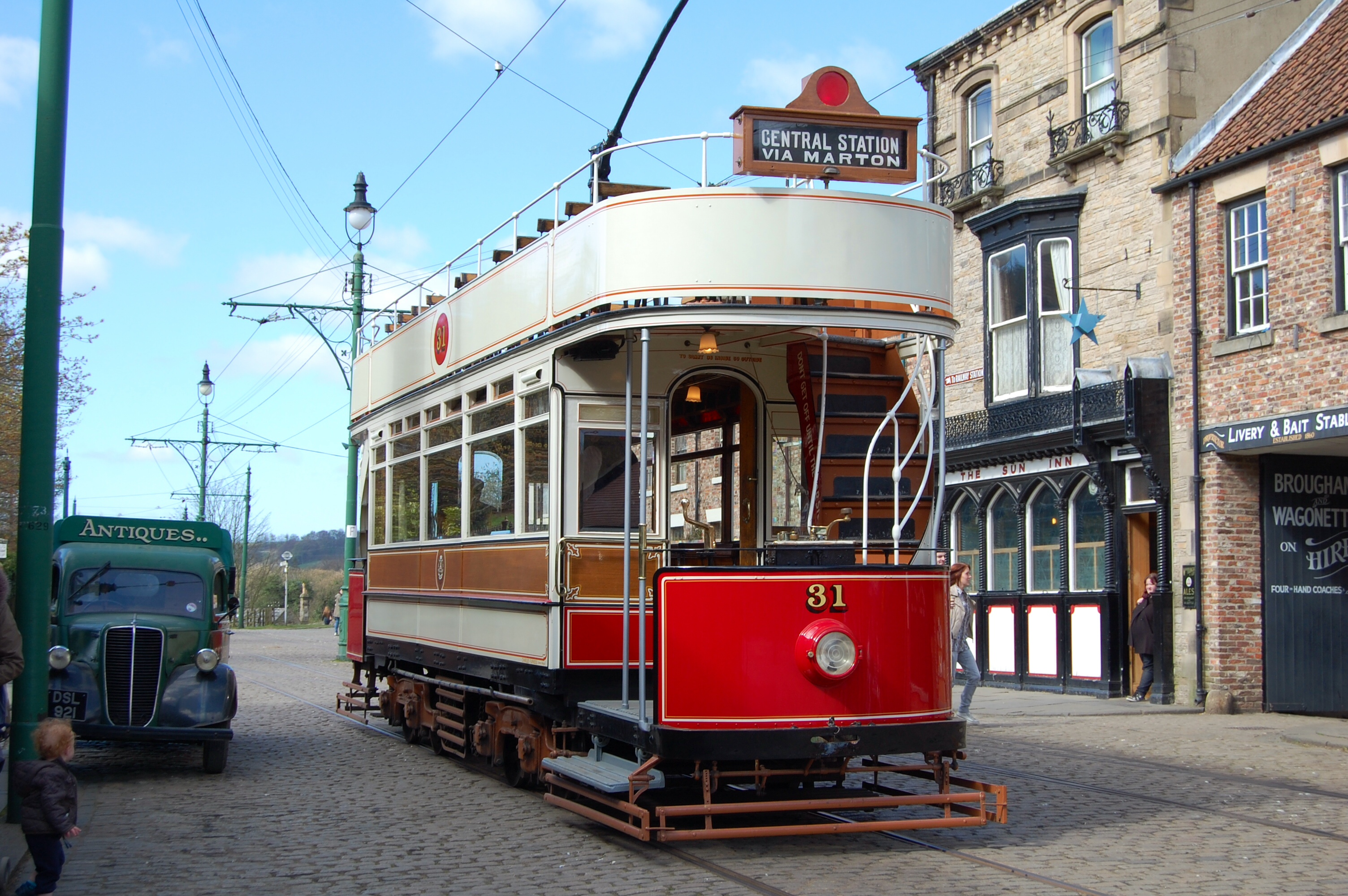 No31 Tram to Central Station