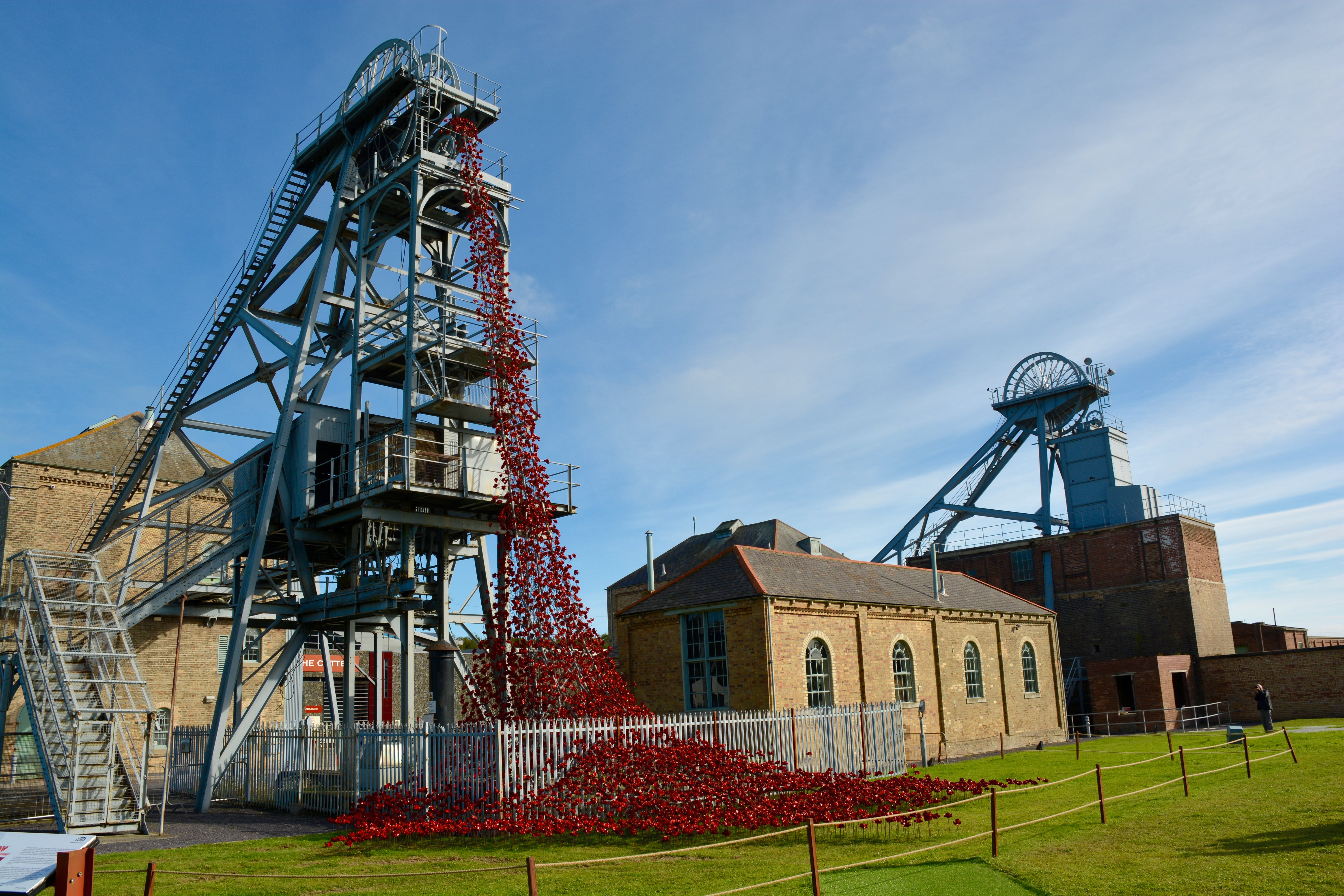Woodhorn Colliery`s Poppies