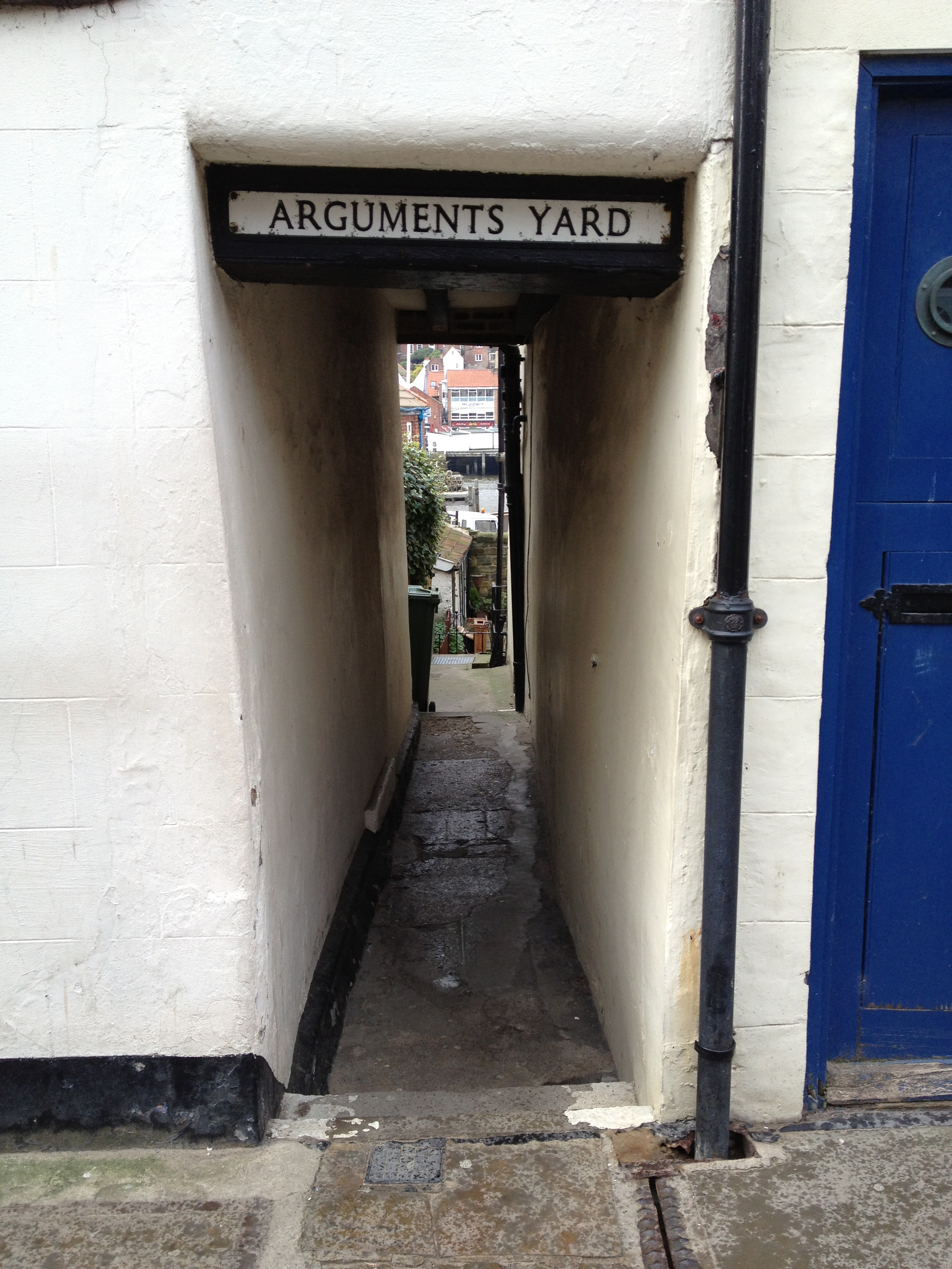 Arguments Yard, Whitby