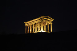 Penshaw Monument by Night