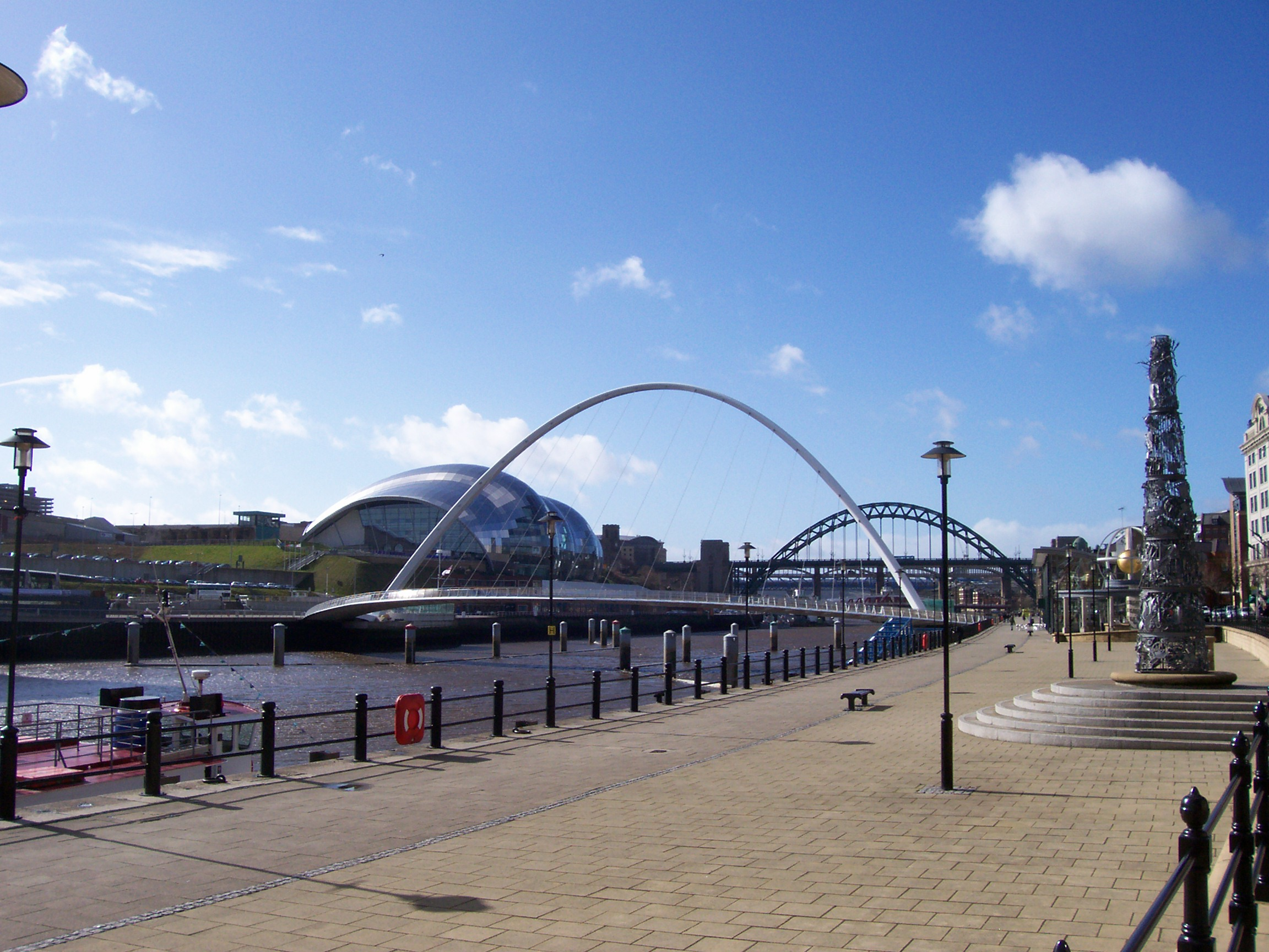 Bridges over the River Tyne