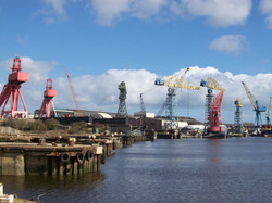 Swan Hunter Yard, Wallsend