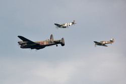 BBMF Fly Past