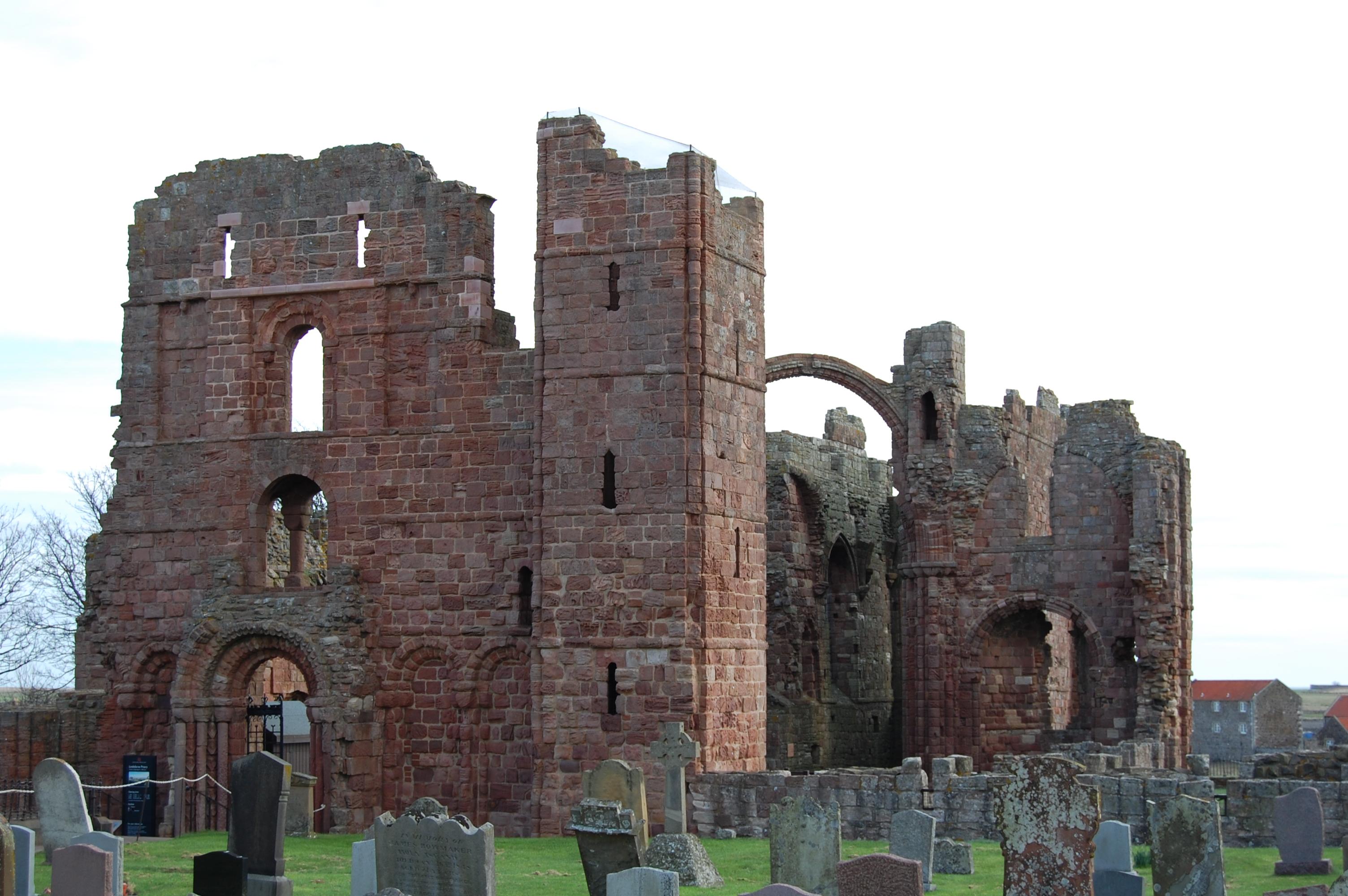 Lindisfarne Priory Ruins