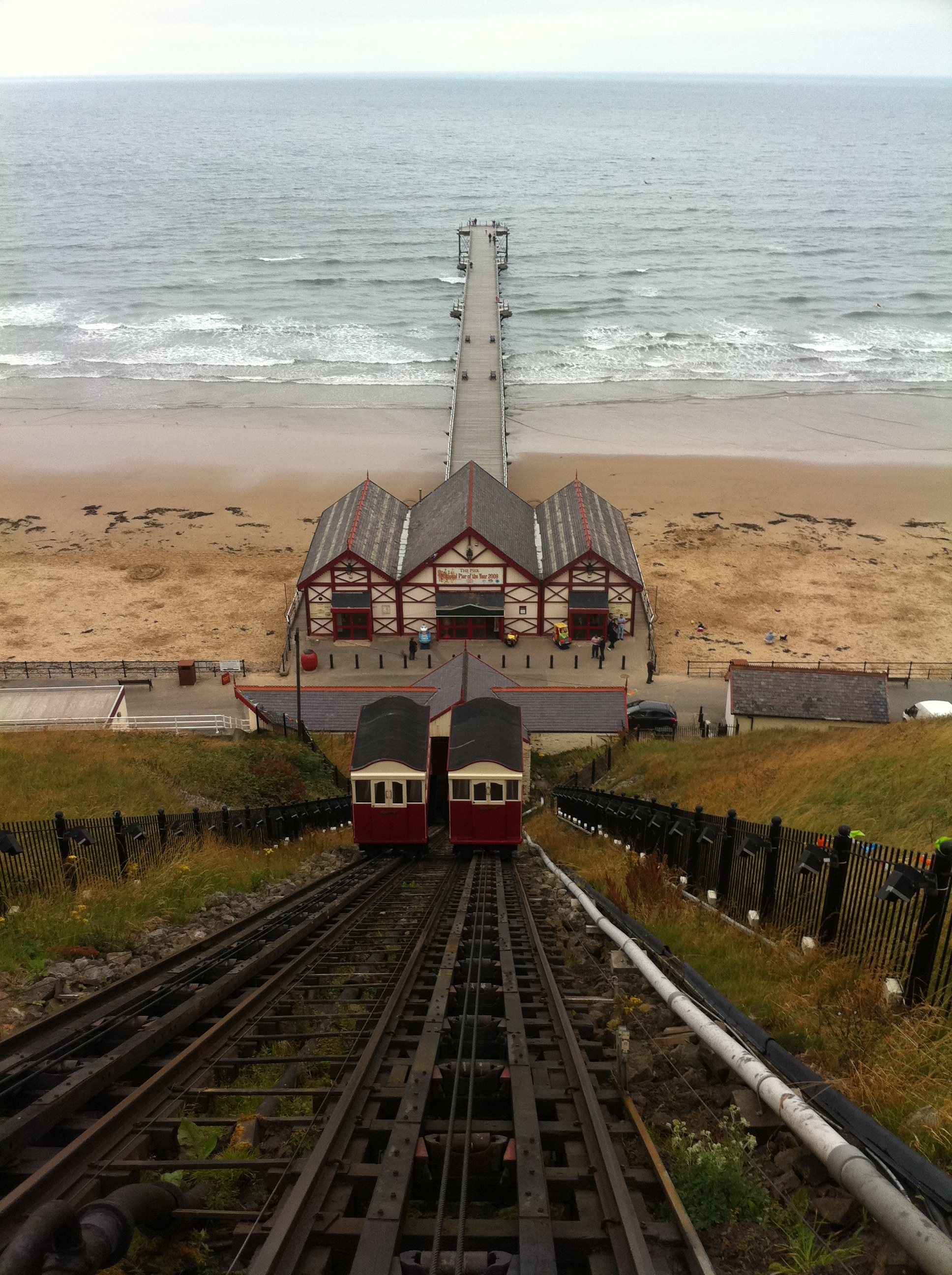Saltburn Vicorian Cliff Lift