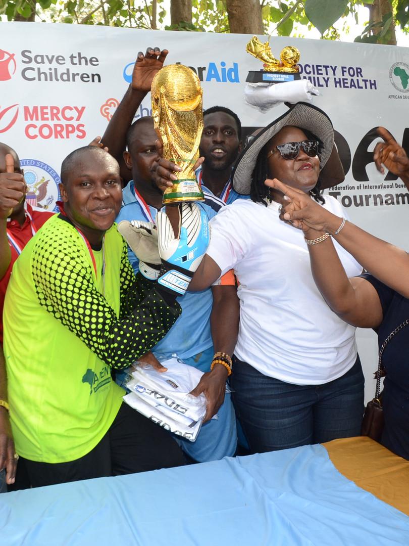 AFENET.winner of FIDAF2019 football game