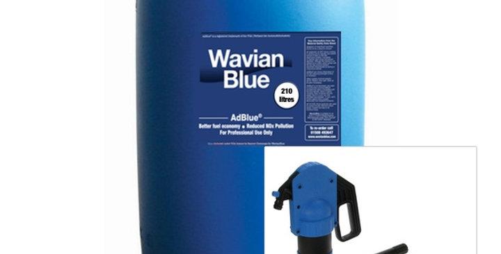 AdBlue Drum Starter Kit (Basic) 1 X 210 Litre AdBlue + Manual Piston Drum Pump