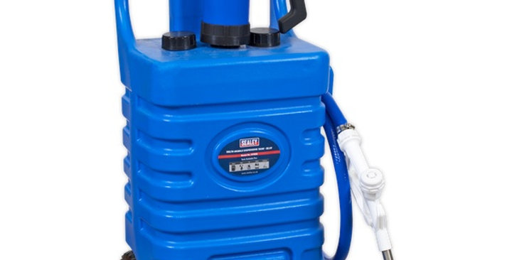 Mobile AdBlue Dispensing Tank 55ltr with Pump - Blue