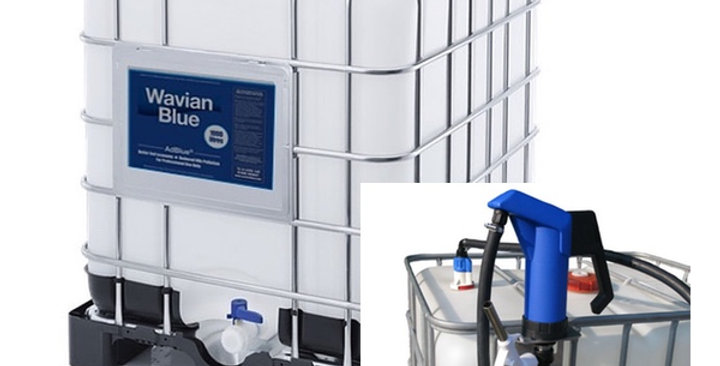 AdBlue IBC Starter Kit (Manual) - 1000 Litre IBC + Manual IBC AdBlue Pump