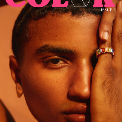 Beauty For Your Eyes To Behold: ColorBloc Magazine ISS009