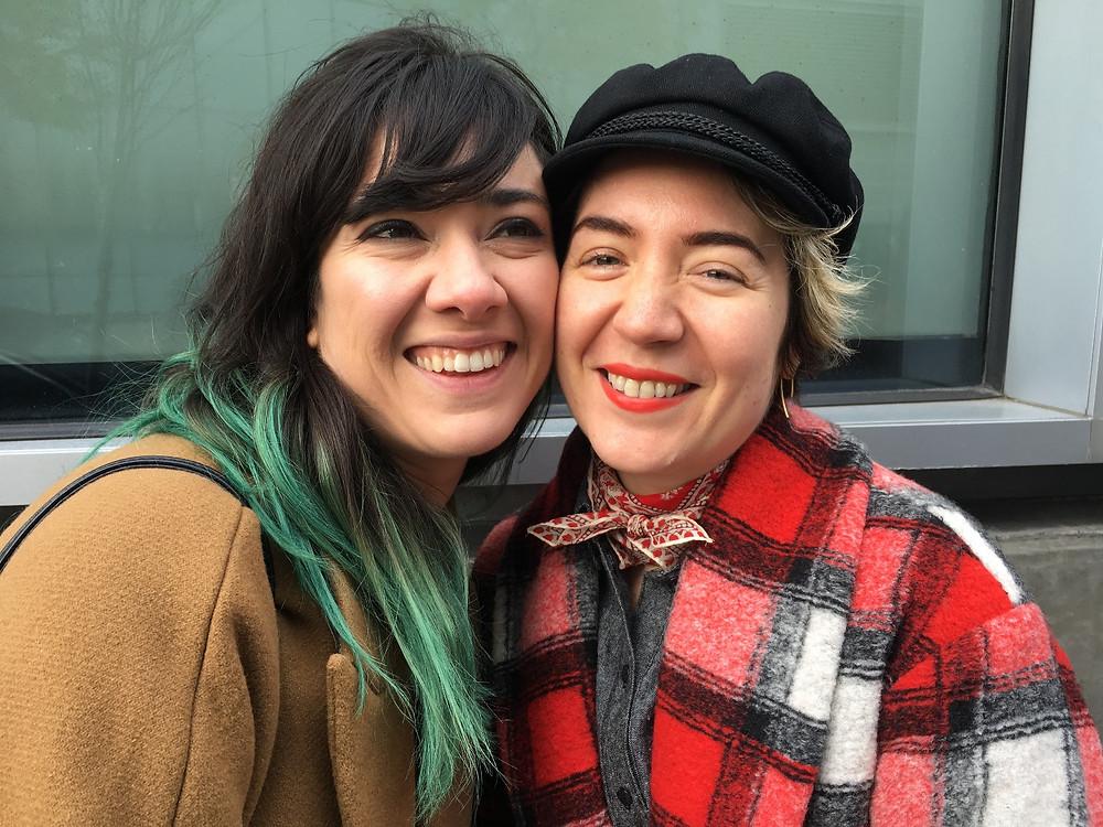 Photo of Julia Trinidad and Emilia Aghamirzai, co-founders of FCF.