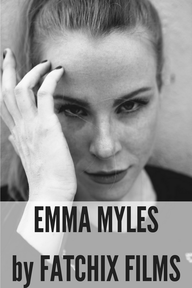 FRIDAY FEATURES: EMMA MYLES