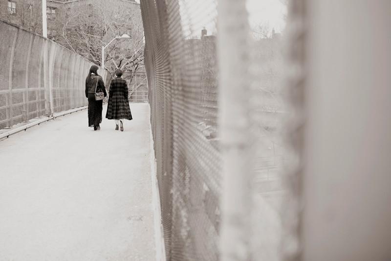 Julia Trinidad and Emilia Aghamirzai, New York City 2012