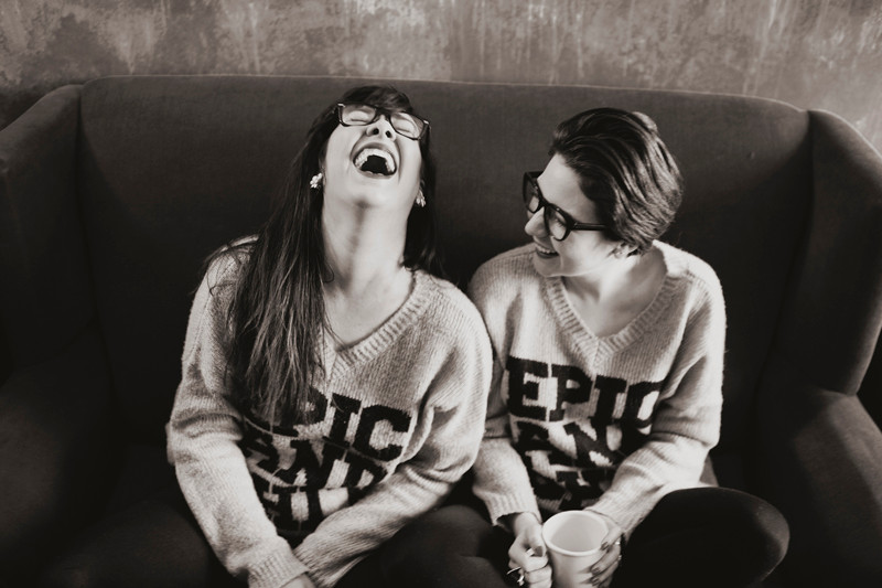 Emilia Aghamirzai and Julia Trinidad of FatChix Films. By Tahni Candelaria