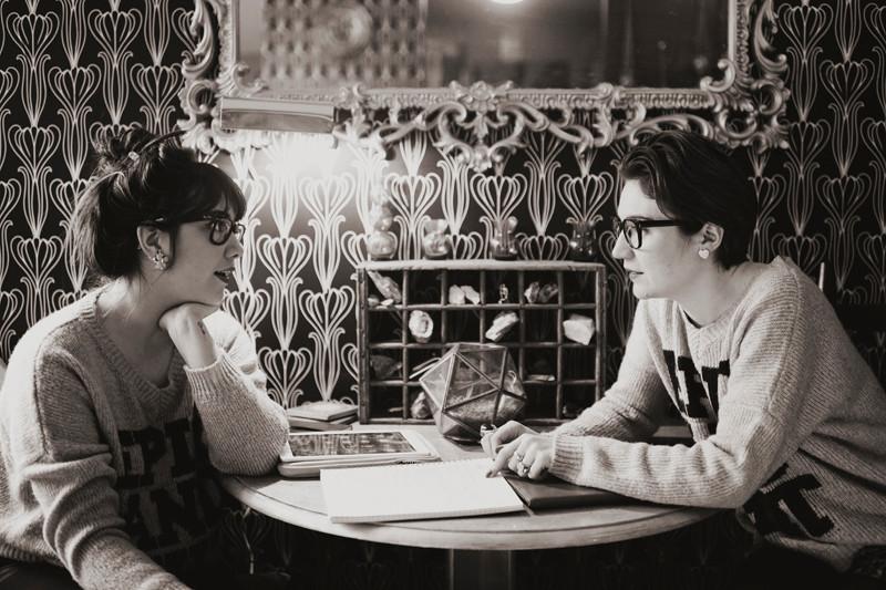 FatChix founders, Julia Trinidad and Emilia Aghamirzai, planning their next move.