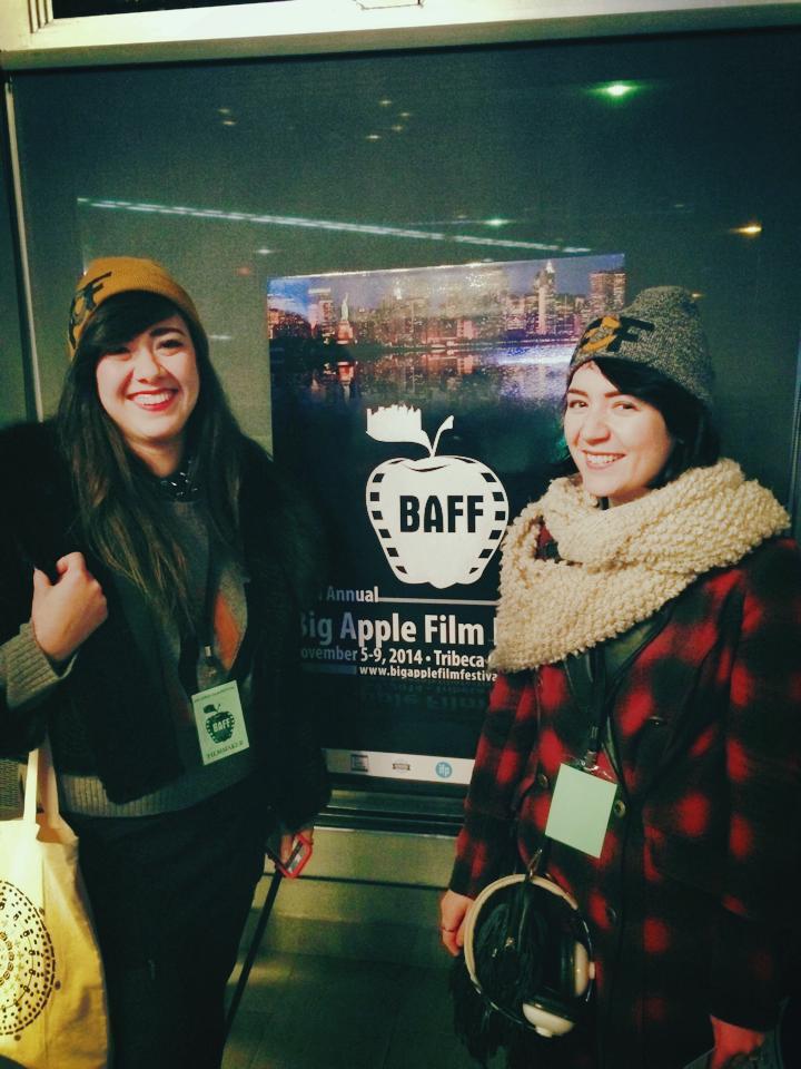 Outside Tribeca Cinemas, c. 2014