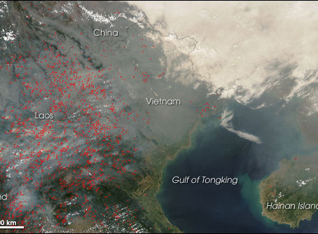 Under the Haze: Chinese Transboundary Pollution in South East Asia