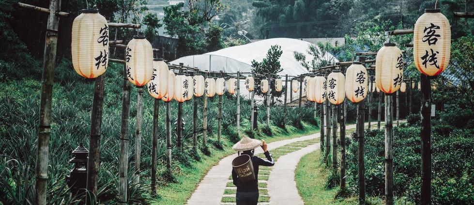 paisaje asiático