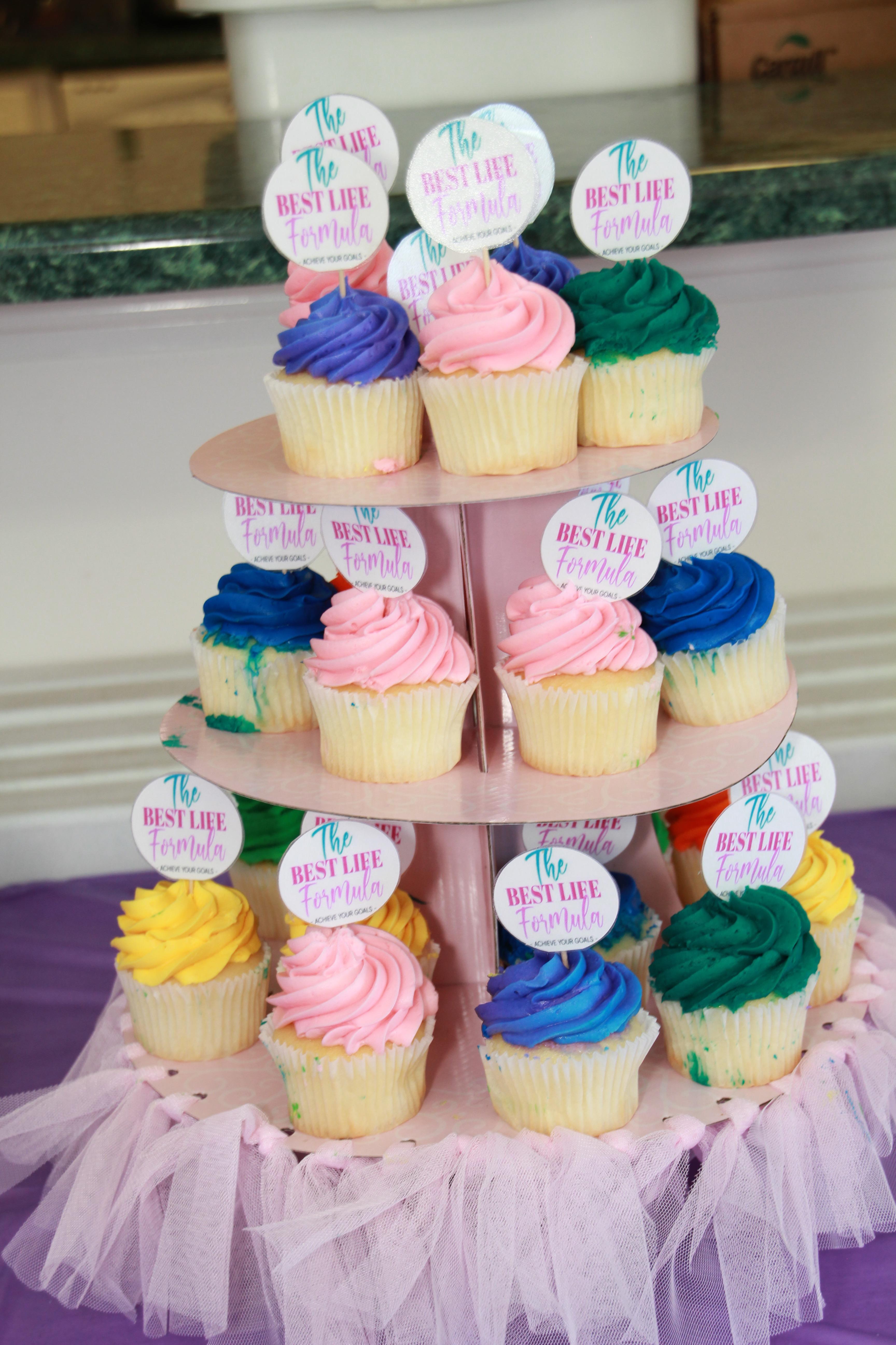 Best Life Formula cupcakes