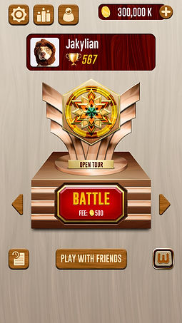 Woody Puzzle Battle 2.0 Main Screen.jpg