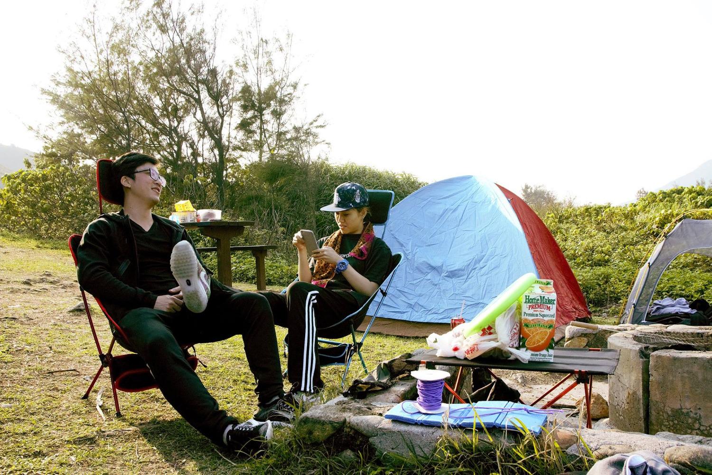 東龍島二日一夜 攀岩露營遊