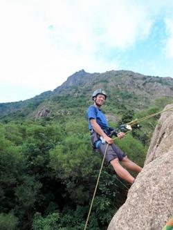 Rock Climbing at Choi Hung