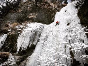 四姑娘山雙橋溝攀冰之旅