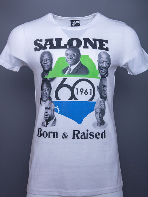 SALONE BORN AND RAISED @60 LIMITED EDITION