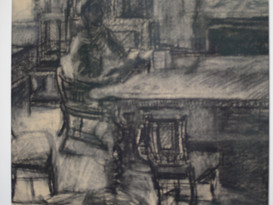 figure in the room