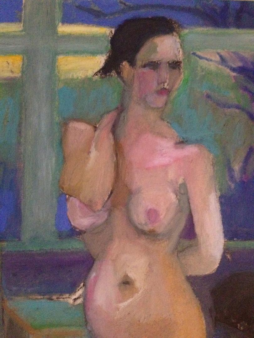 figure in camilla's studio