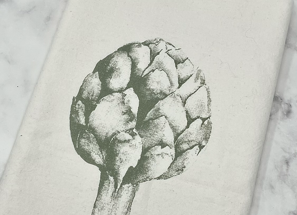 Darling Bower Cotton Tea Towel - Artichoke