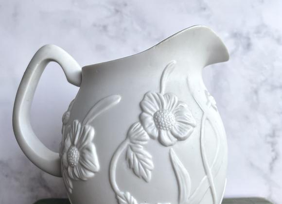 Mexican Porcelain - Floral Pitcher