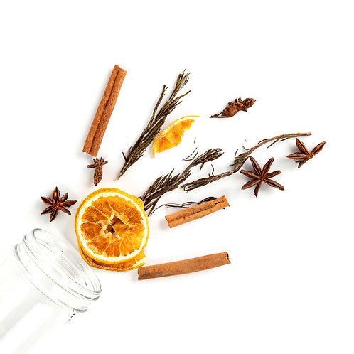Warm Spice Simmer Jar
