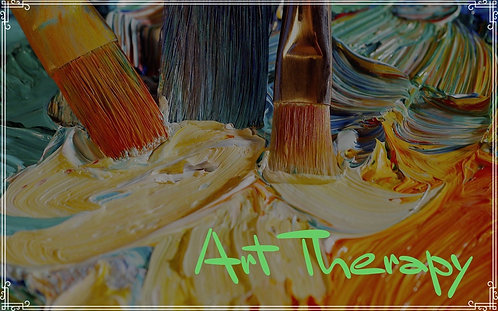 HEALING ABSTRACT ART  2X2 Canvas