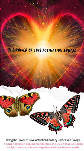 The Power Of Love : 7 card Love Activation Spread