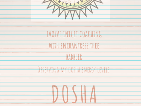 DOSHA DAY & EVENING JOURNALING PROMPTS