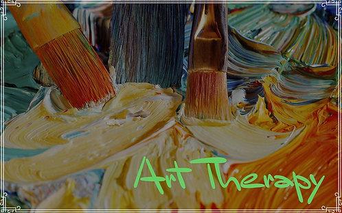 HEALING ABSTRACT ART 3x3 Canvas