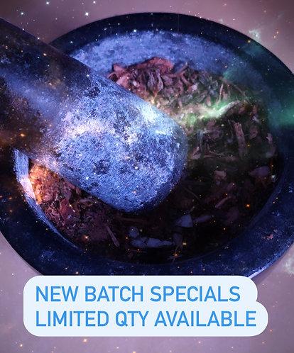 Enchanting New Moon herb packet