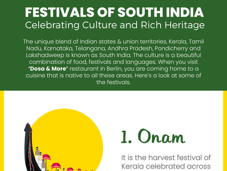 Festivals of South India - Celebrating Culture and Rich Heritage
