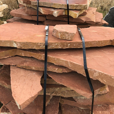 Red Patio Flagstone