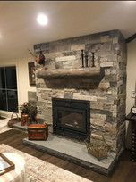 Gomez Grey ledge w apex Fireplace