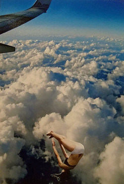 diving in the sky