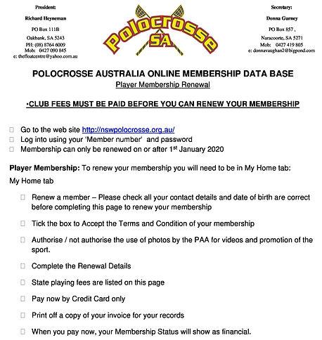 Player Database renewal process 20[22295