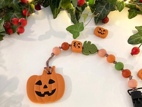 Pumpkin 2 in 1 cumi- és rágcsalánc