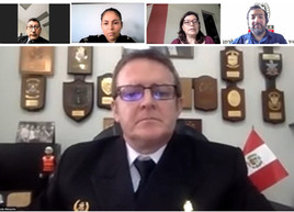 Peru's answer to no travel – virtual National meetings
