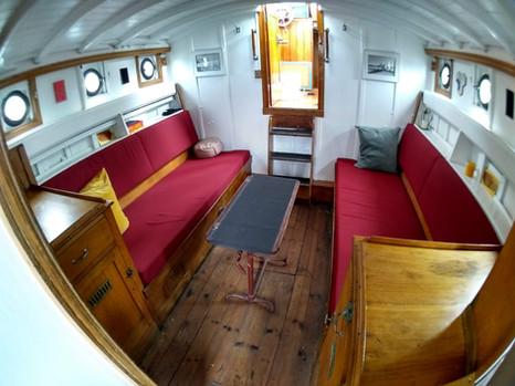 Interieur motorjacht Duessa