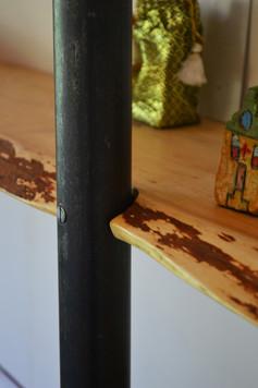 Wand planken i.c.m. staal 7