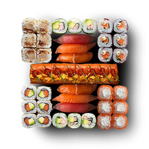 SUSHI PARTY 70 PIECES