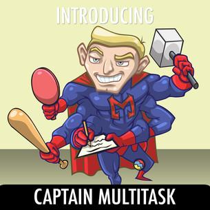 Meet the Creepies #2-- Captain Multitask