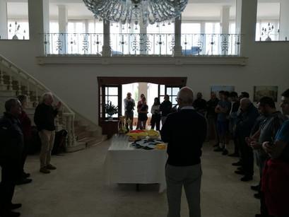 Premiazione con Presidente Mariuzzo